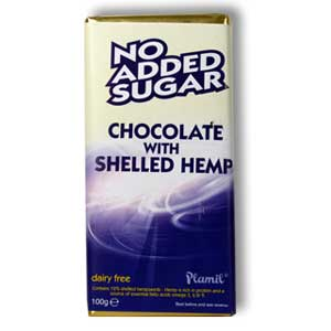 Plamil Chocolate and Shelled Hemp Seed