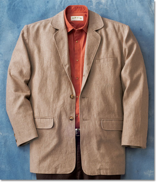 Orvis Hemp and Cotton Belize Jacket