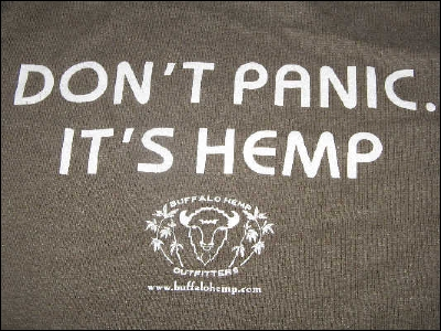 Don't Panic It's Hemp