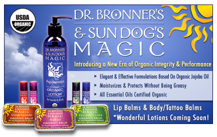 Dr. Bronner's & Sun Dog's Magic