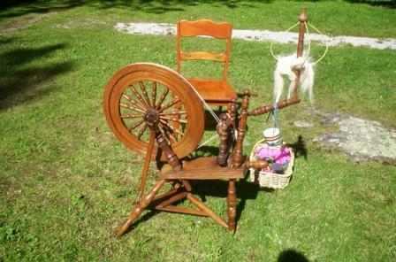 Hemp and Flax Wheel